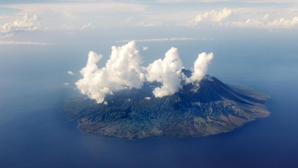 Vulkaninsel, Indonesien