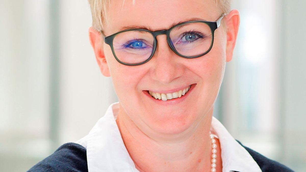 Dr. Tanja Hochegger, die neue Chefärztin der Kinder- und Jugendpsychiatrie im Bezirkskrankenhaus Landshut