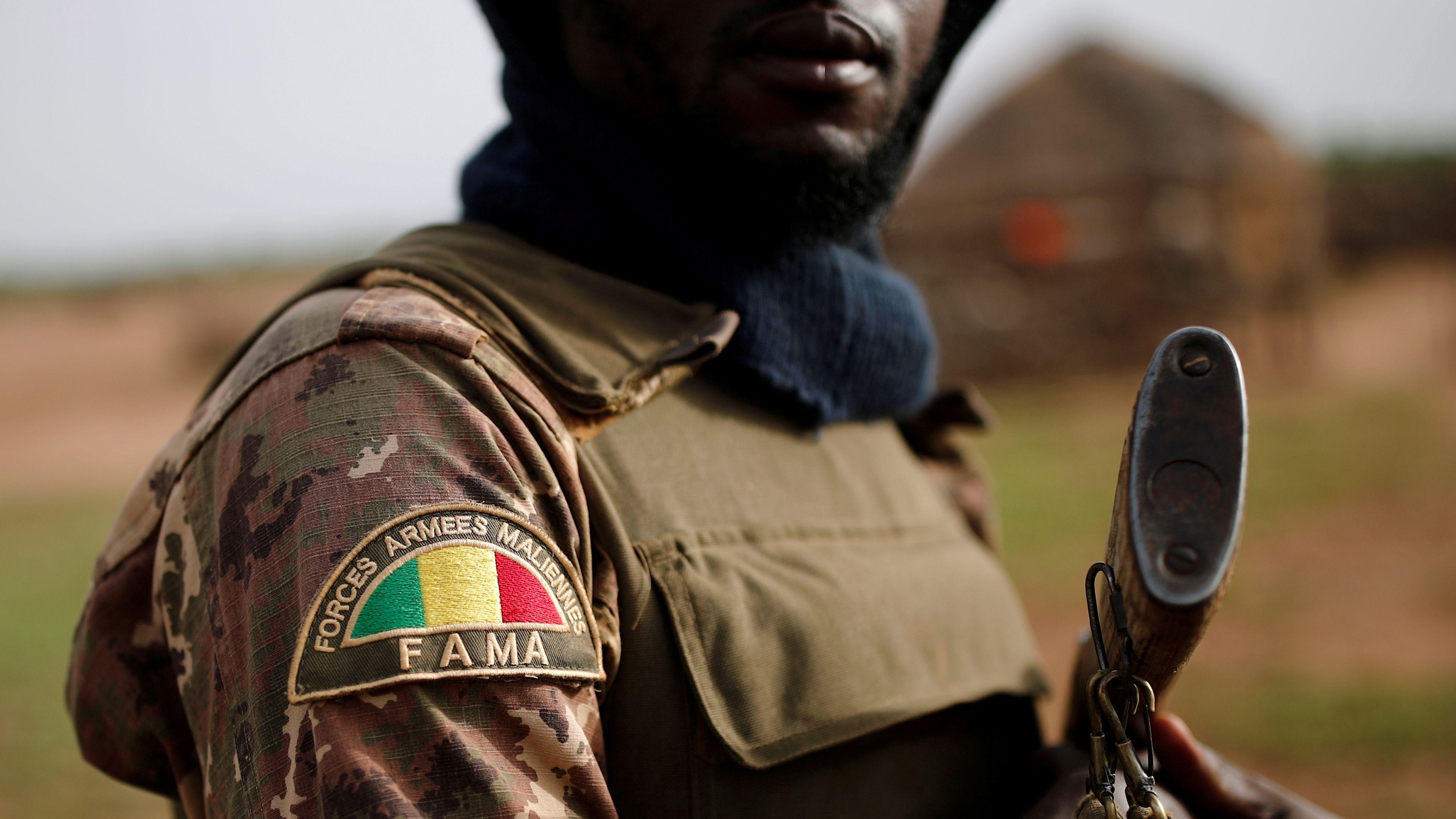 Ein Soldat der malischen Armee (Symbolbild)