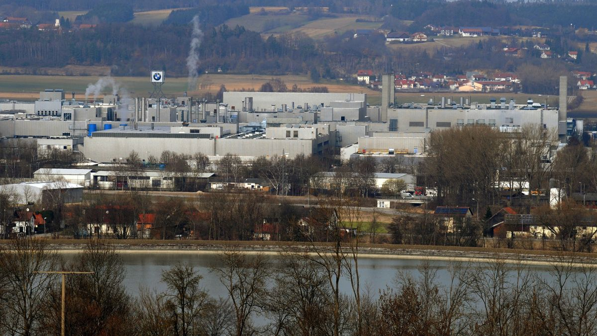 Das BMW-Werk an der Isar in Dingolfing