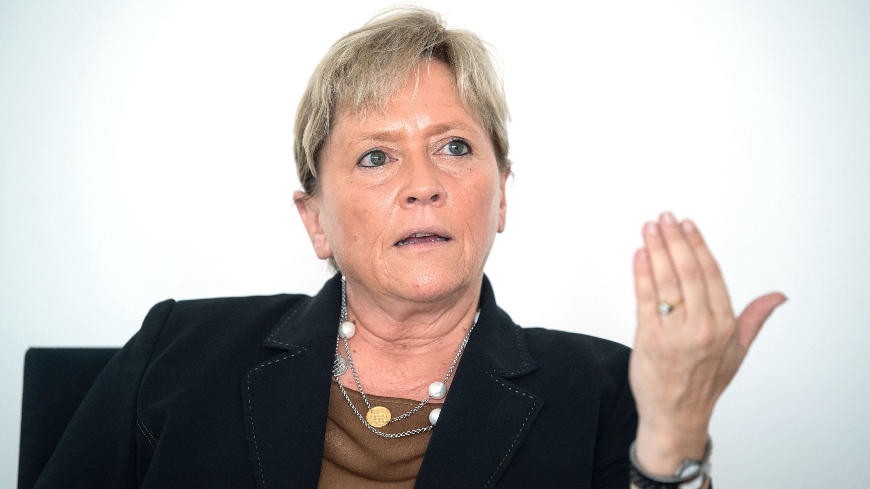 Susanne Eisenmann, Spitzenkandidatin der CDU für die Landtagswahlen in Baden-Württemberg.
