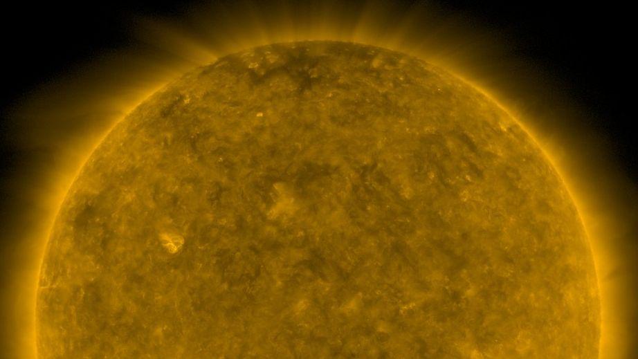 Die Sonne am 10. Dezember 2019, aufgenommen vom Sonnenbeachtungssatelliten Solar Dynamics Observatory (SDO)