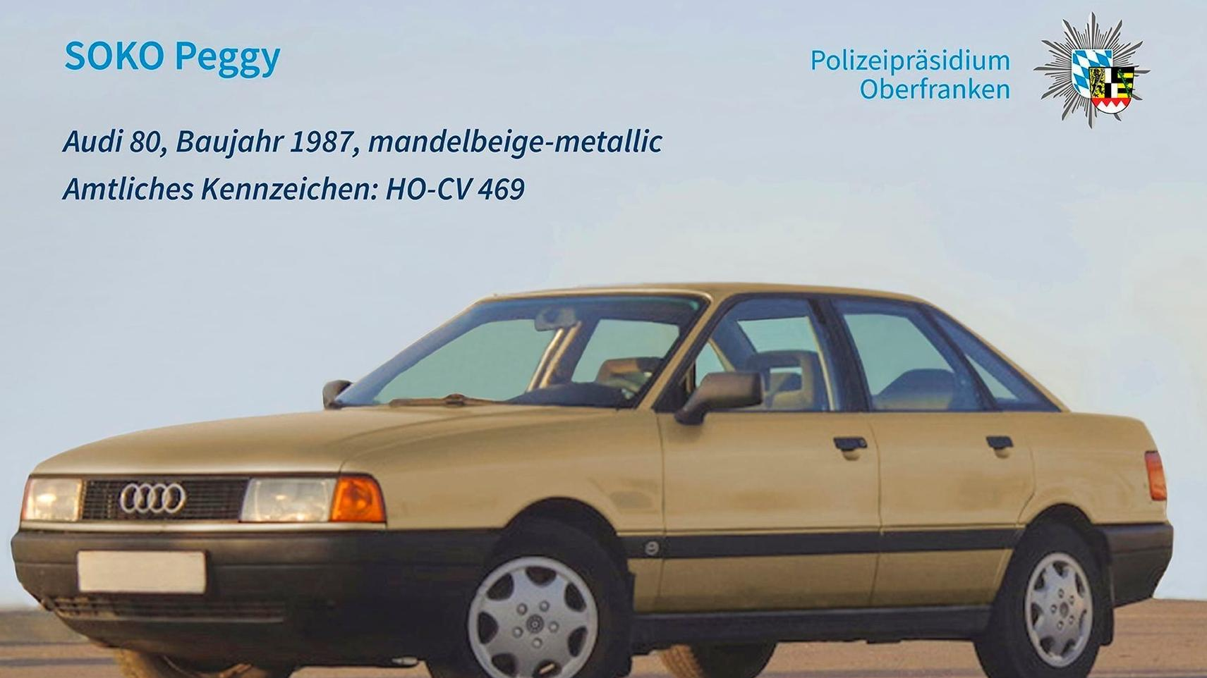 Goldener Audi 80