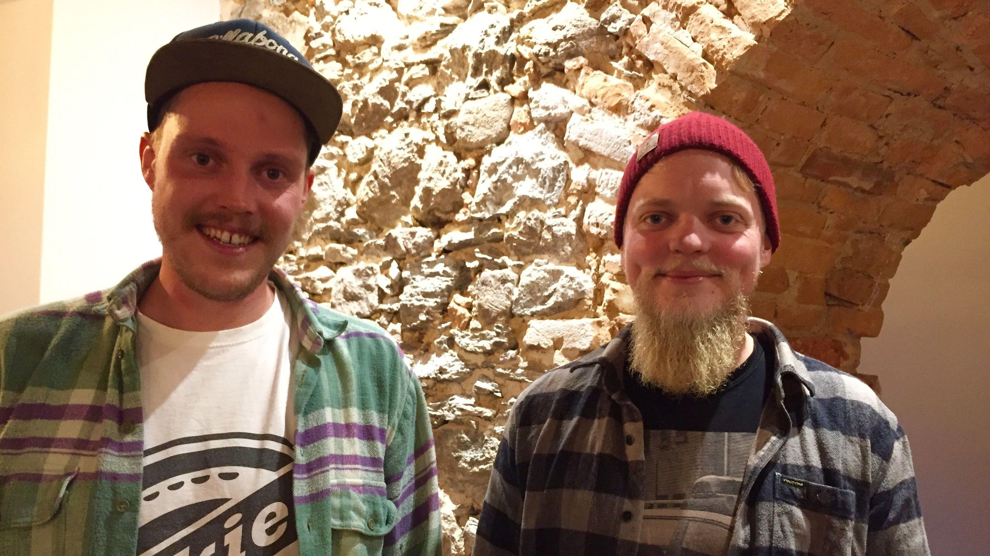 Michi Pelikan und Joe Wagner, die neuen Besitzer des Gasthauses