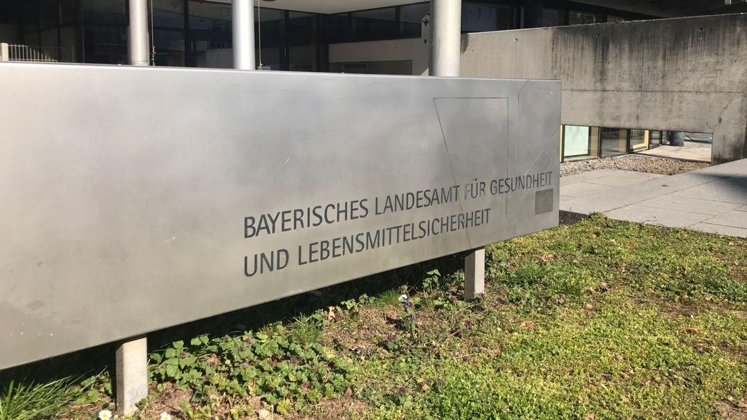 Das Landesamt für Gesundheit und Lebensmittelsicherheit in Erlangen.