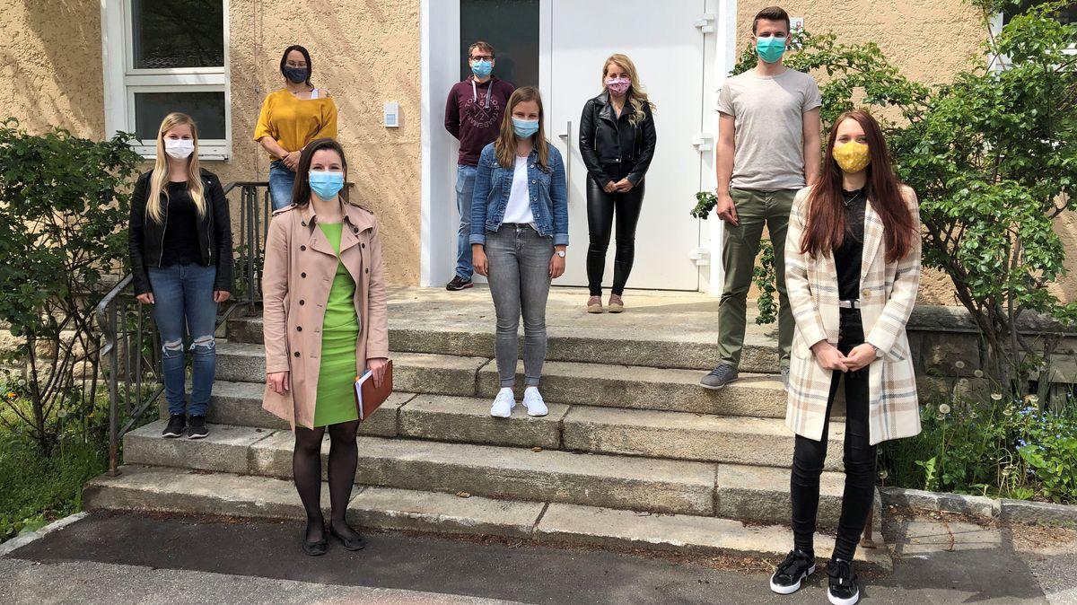 Die zusätzlichen Mitarbeiter des Contact-Tracing-Teams am Gesundheitsamt in Freyung-Grafenau