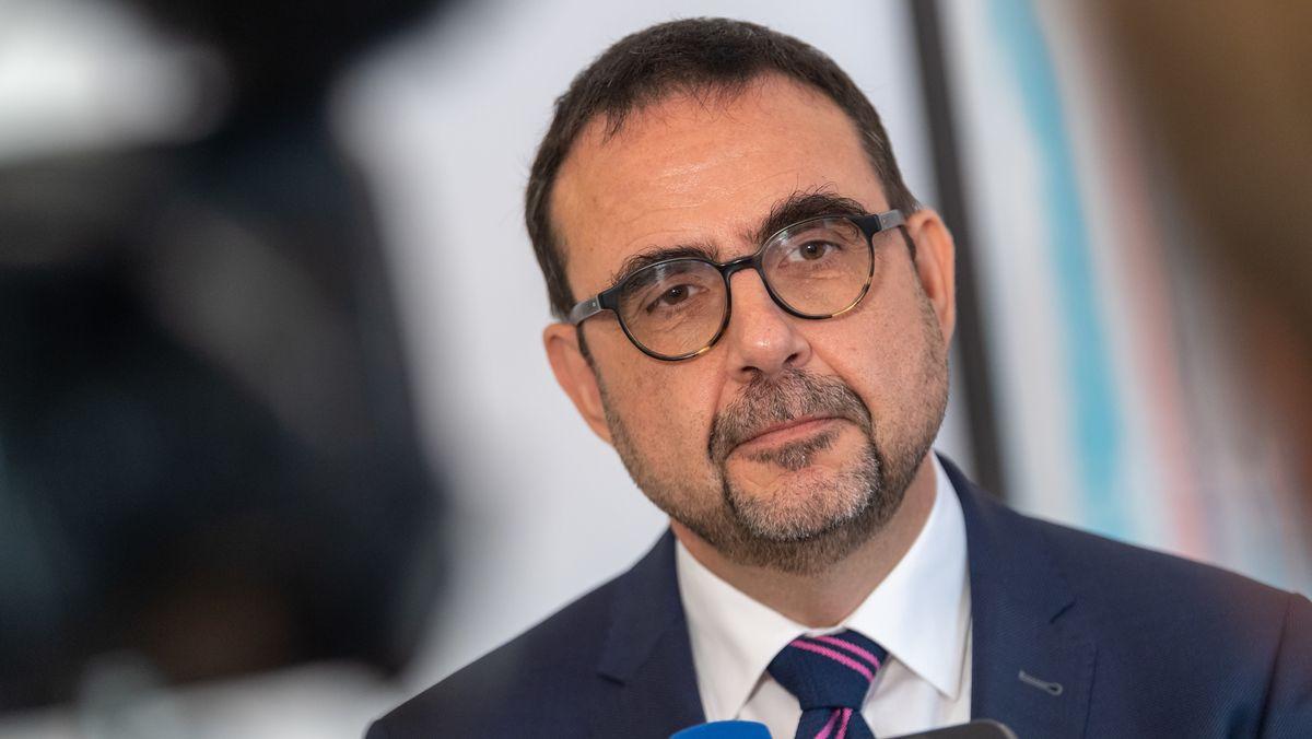 Der bisherige Bau- und Verkehrsstaatssekretär Klaus Holetschek.