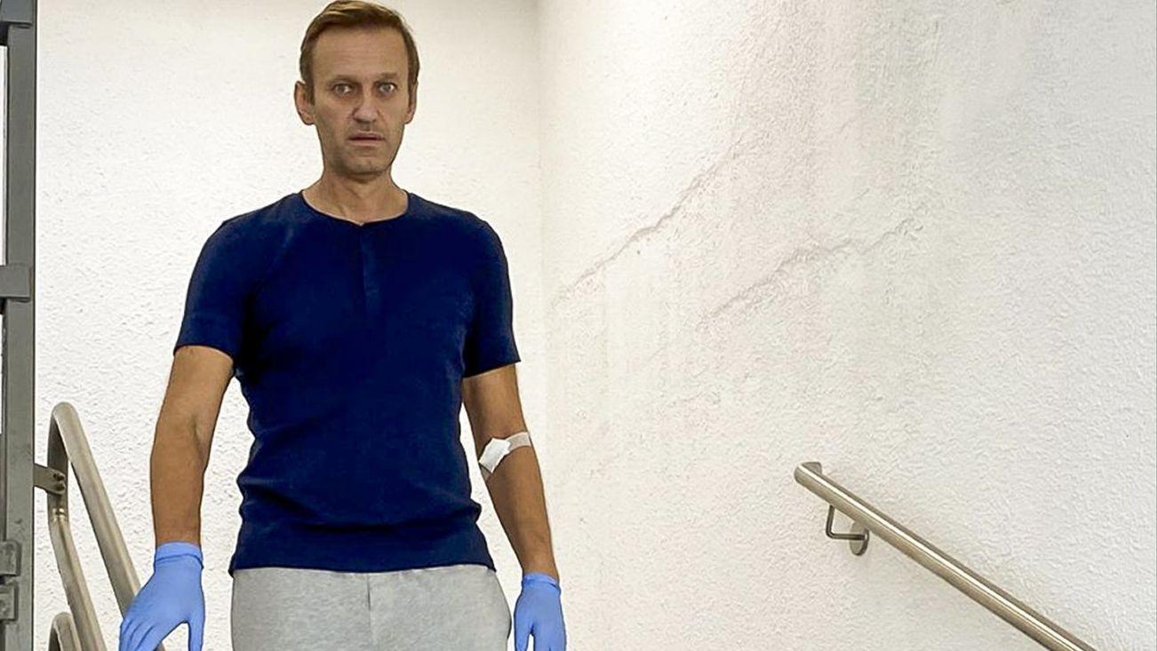 Alexei Nawalny in der Berliner Charité