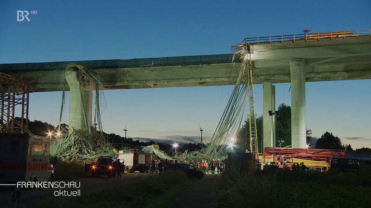 Einsturz der Schraudenbachbrücke