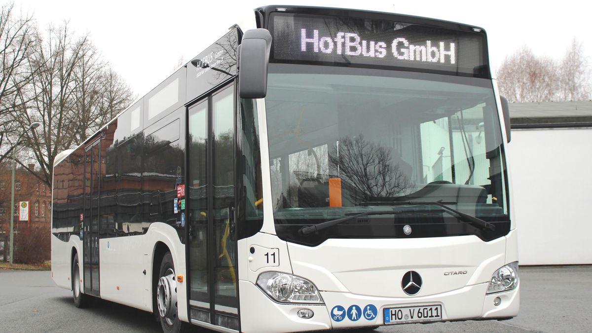 Ein Stadtbus aus Hof.