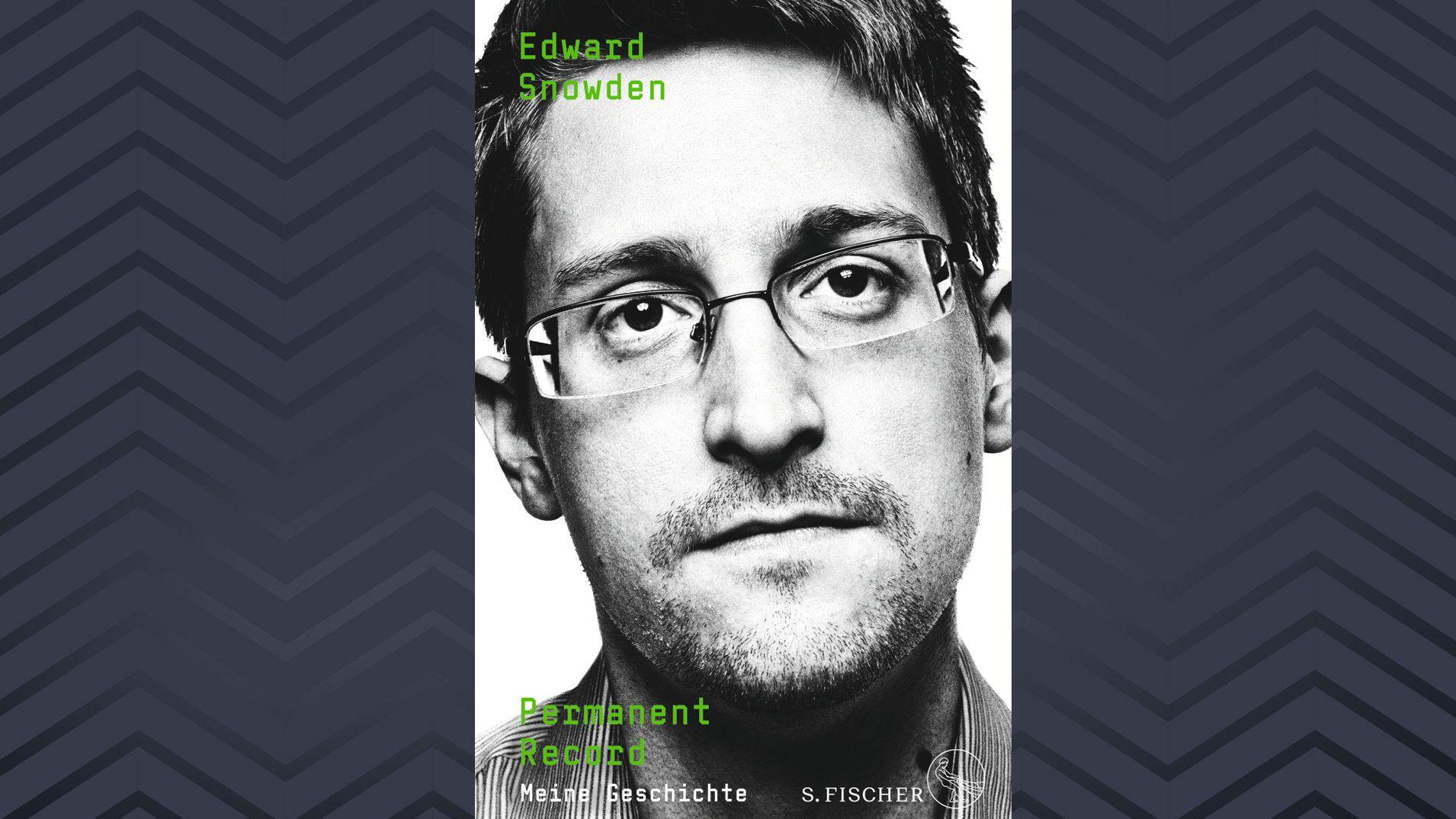"Cover der Snowden-Autobiografie ""Permanent Record"""