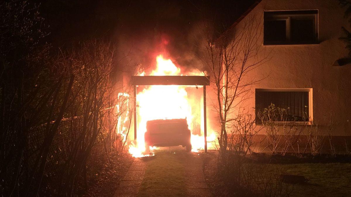 Brandanschlag in Berlin