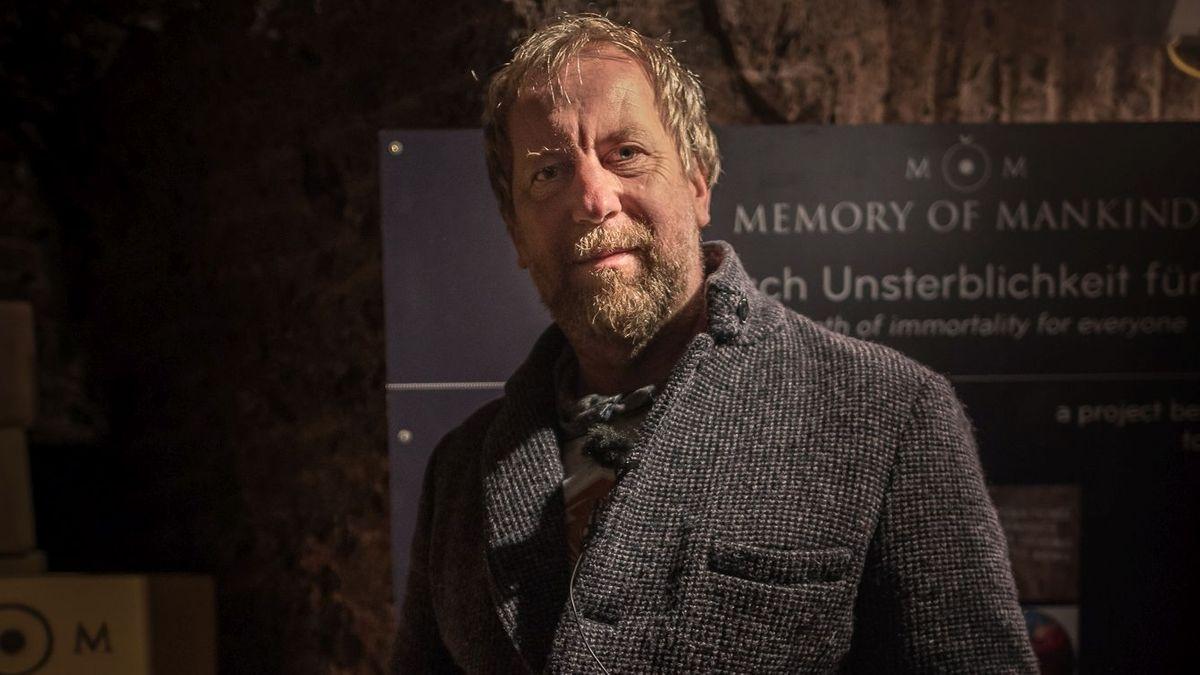 "Gründer des Projekts ""Memory of Mankind"" Martin Kunze"