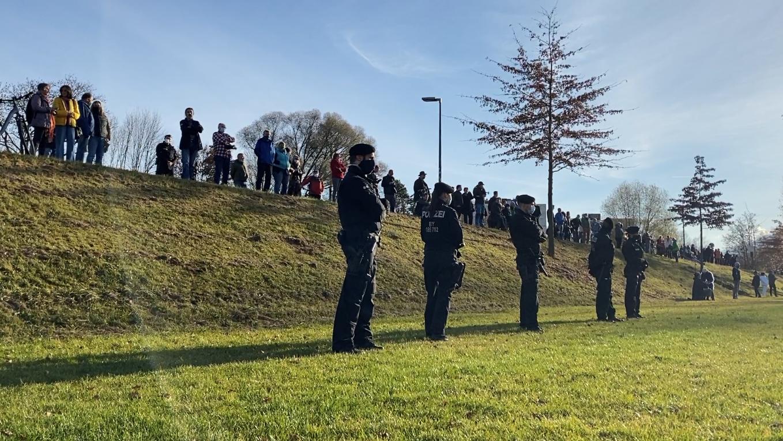 Querdenken-Demo in Rosenheim