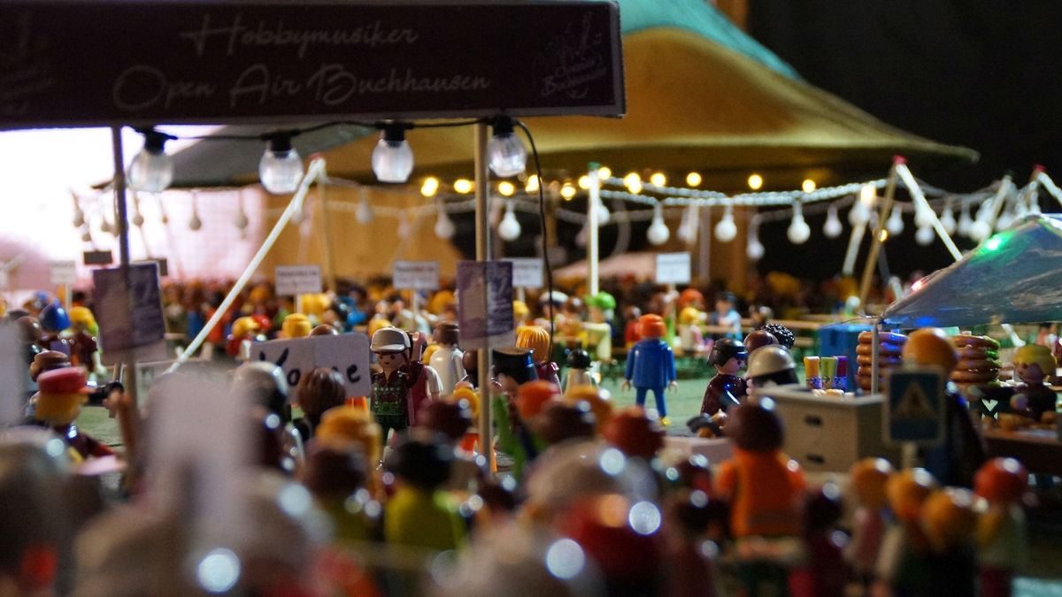 Das Mini Open-Air der Hobbymusiker Buchhausen im Miniaturformat