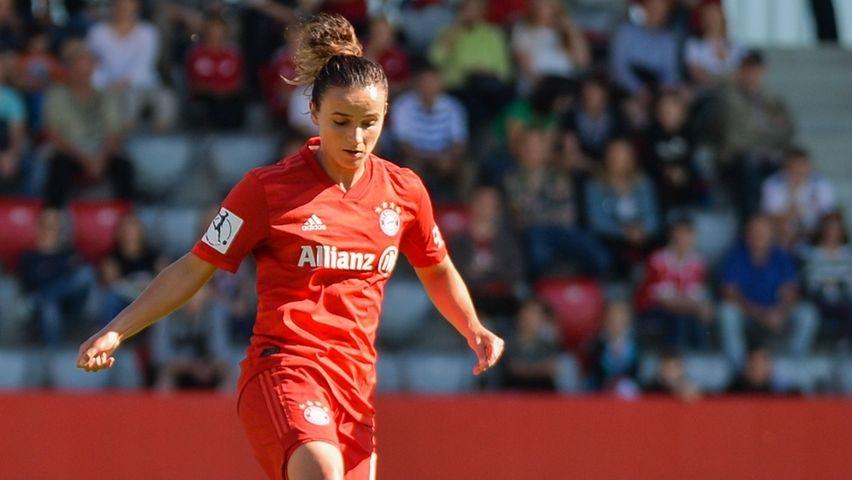 Lina Magull erzielte in der ersten Halbzeit zwei Treffer.