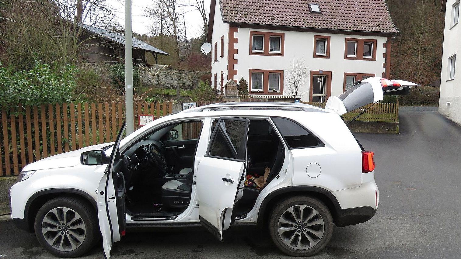 Fluchtfahrzeug in Wirsberg