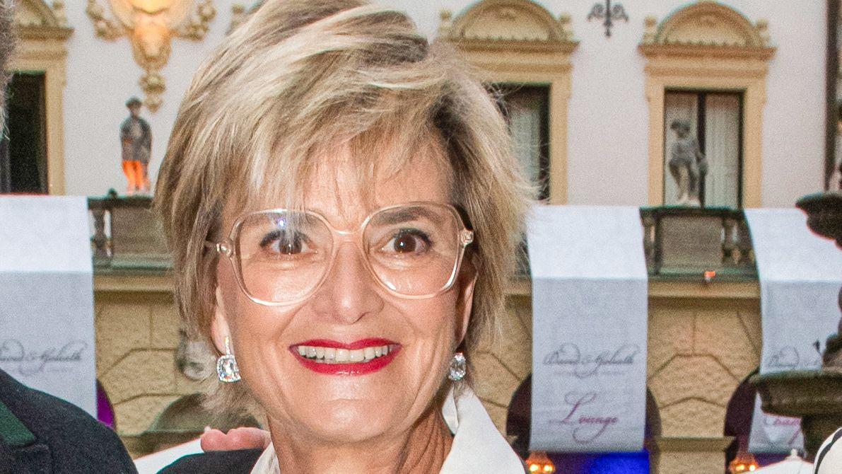 Hausherrin Gloria von Thurn und Taxis auf den Schlossfestspielen 2019 in Regensburg