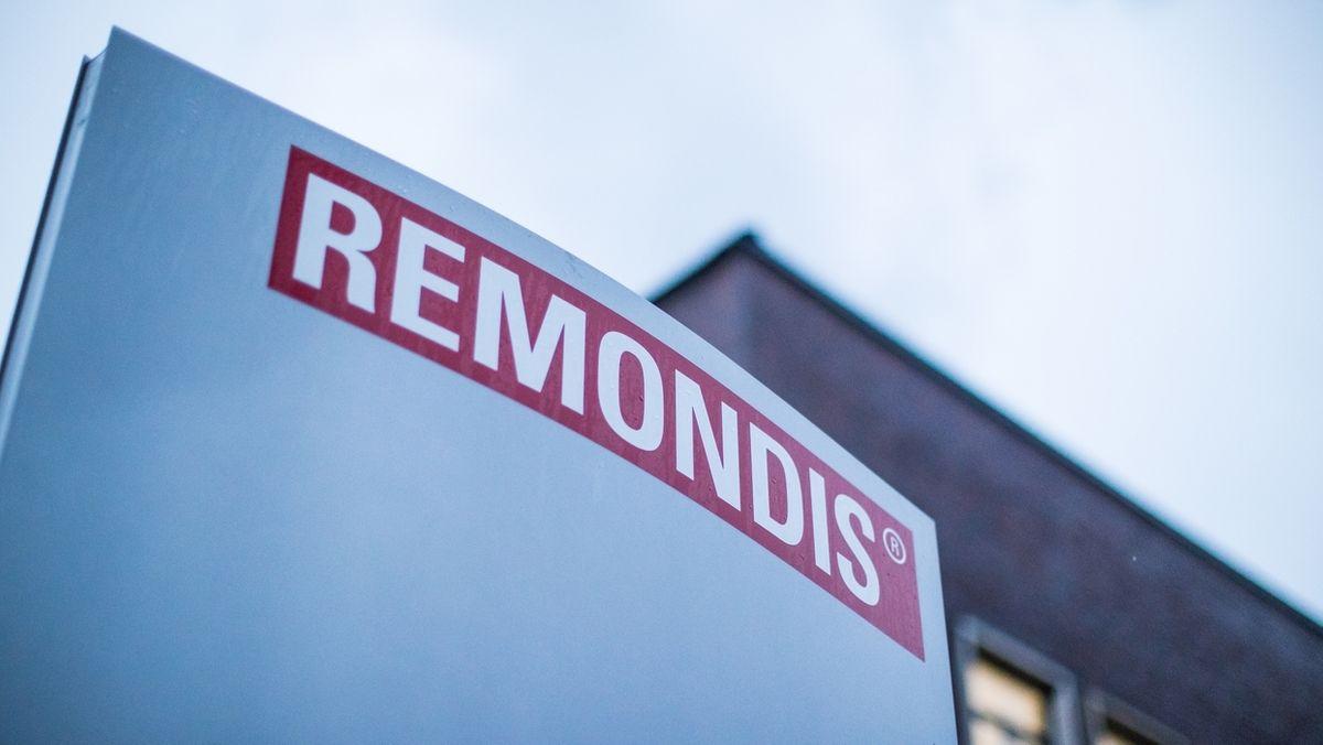 Schild vor der Firmenzentrale von Remondis