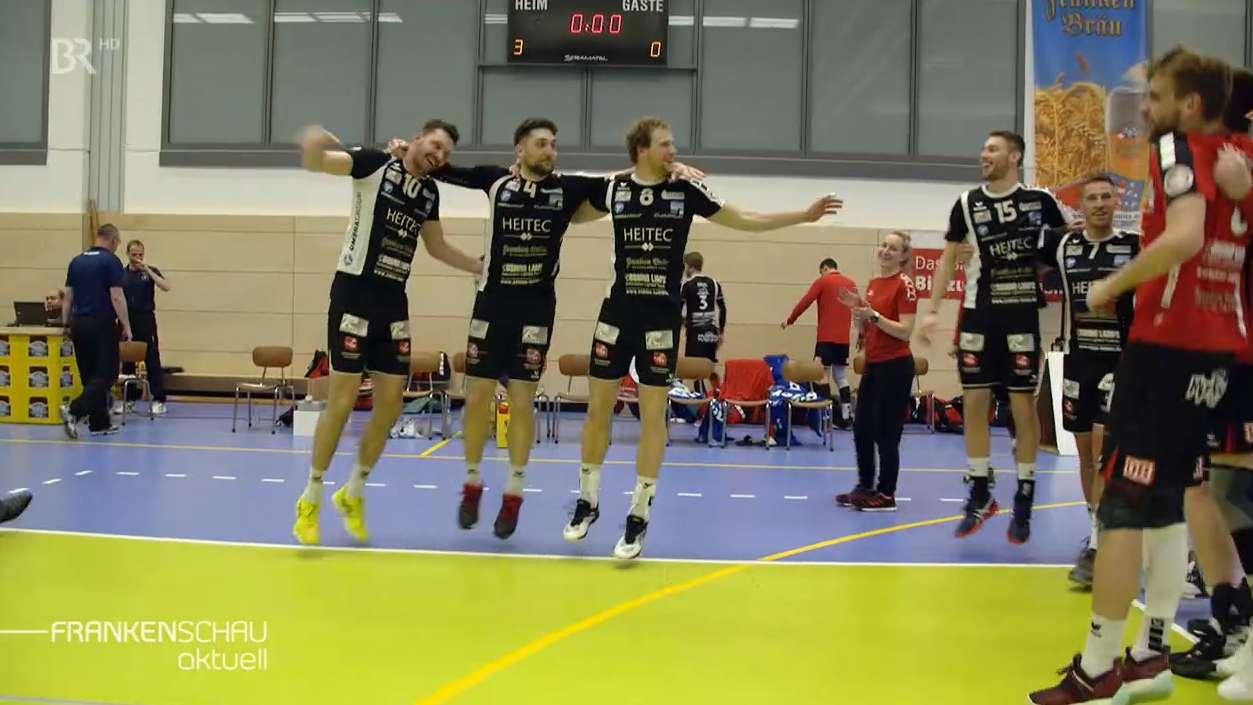 Volleyball-Team aus Eltmann