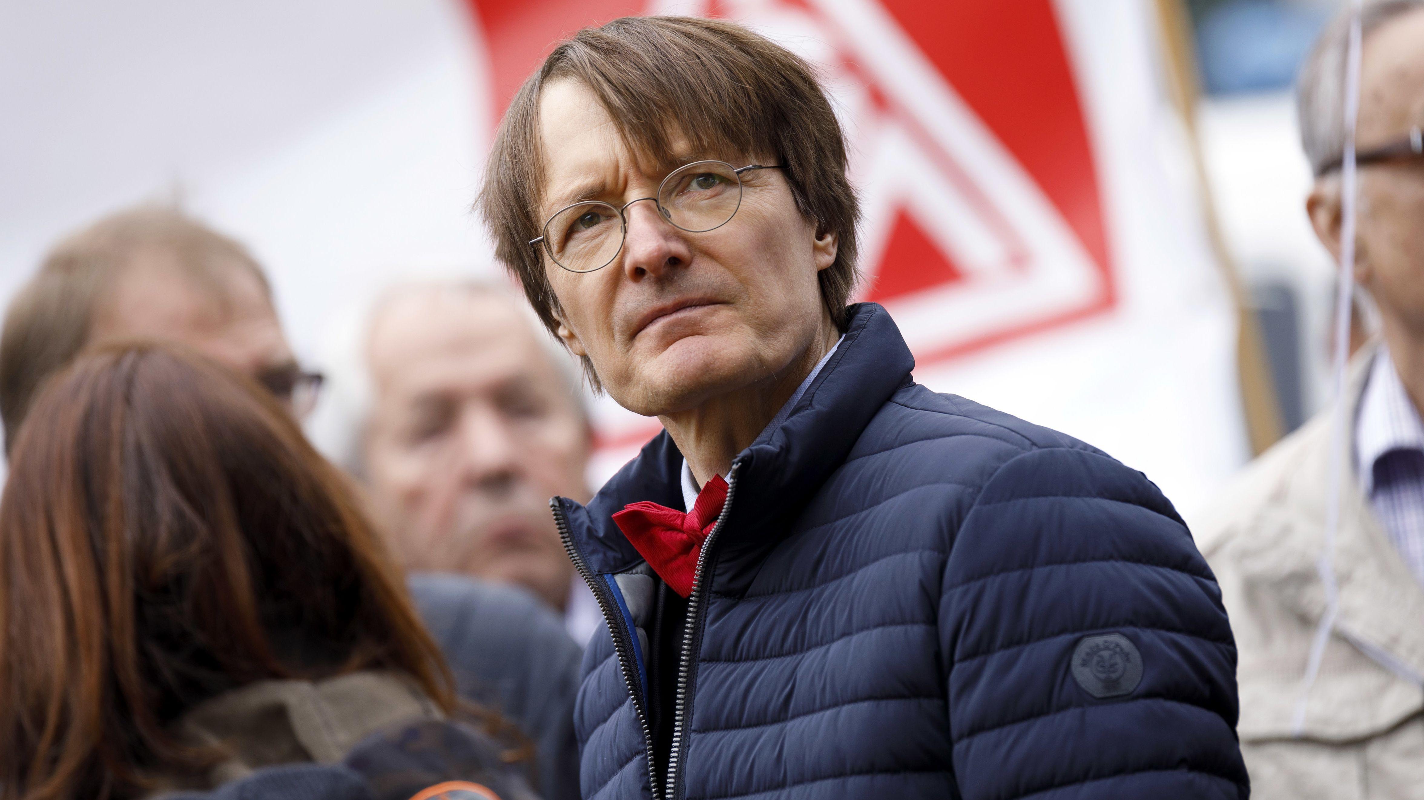 SPD-Fraktionsvize Karl Lauterbach ist neben Nina Scheer der Bewerber für die Doppelspitze