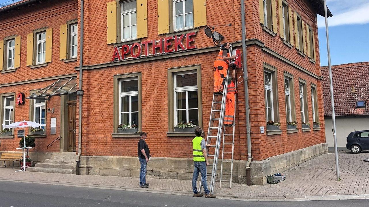 Not-Apotheke im Rathaus Unsleben
