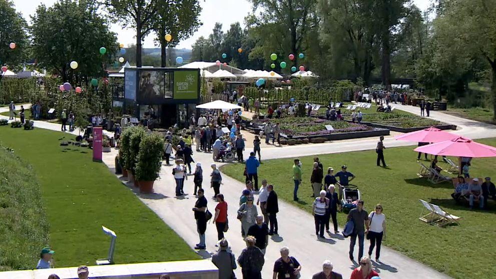 Die Bayerische Gartenschau in Wassertrüdingen