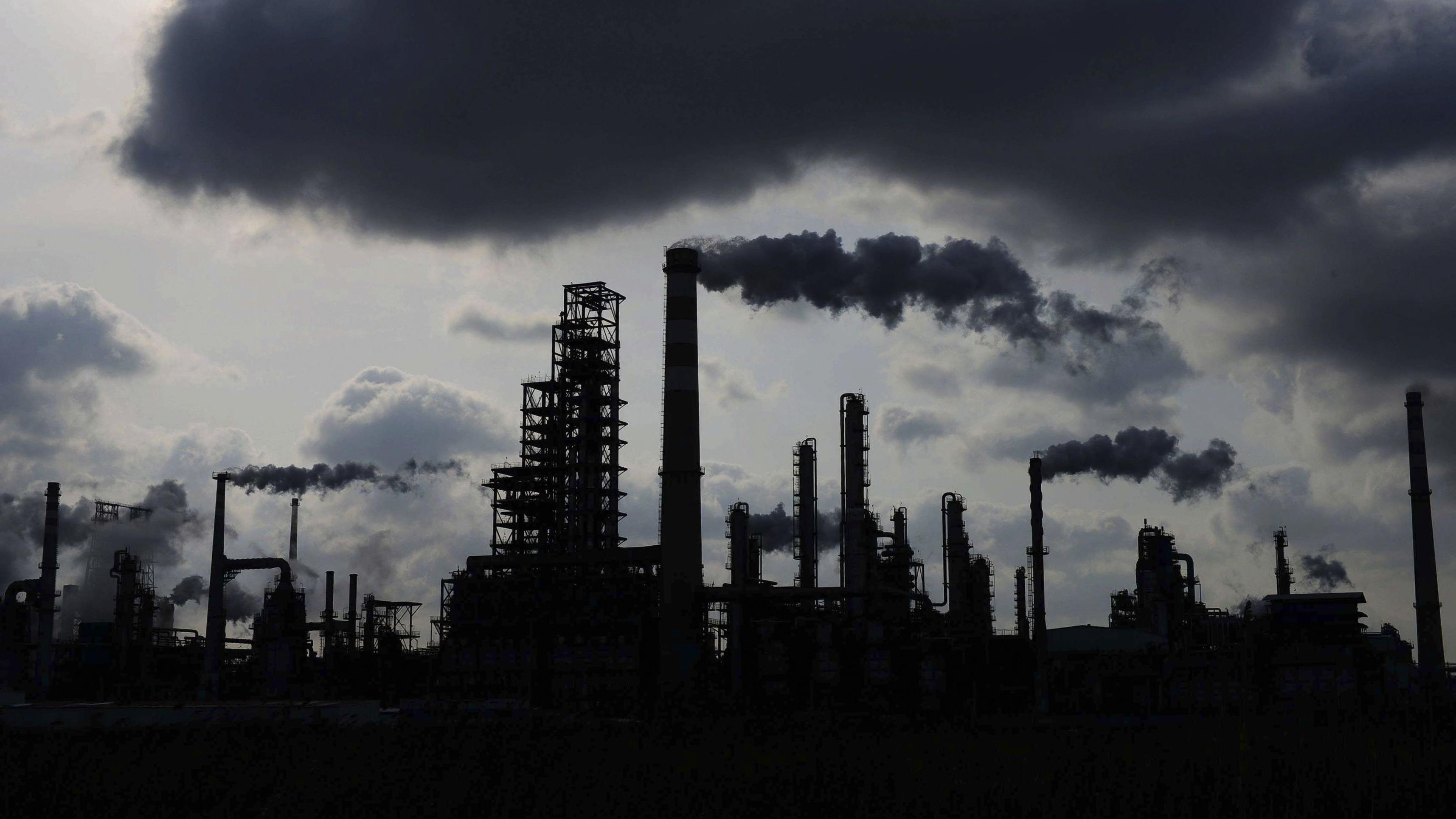 Öl-Raffinerie in China