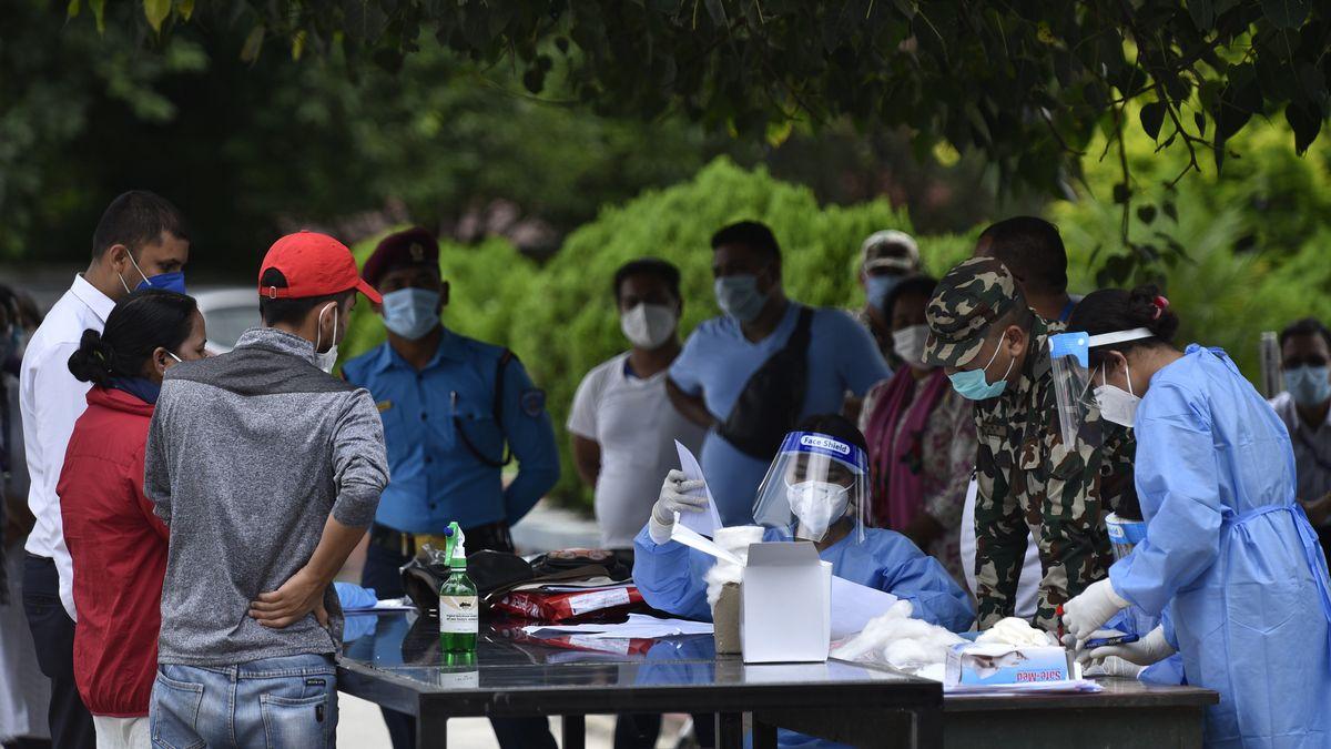 COVID-19 Tests in Kathmandu, Nepal