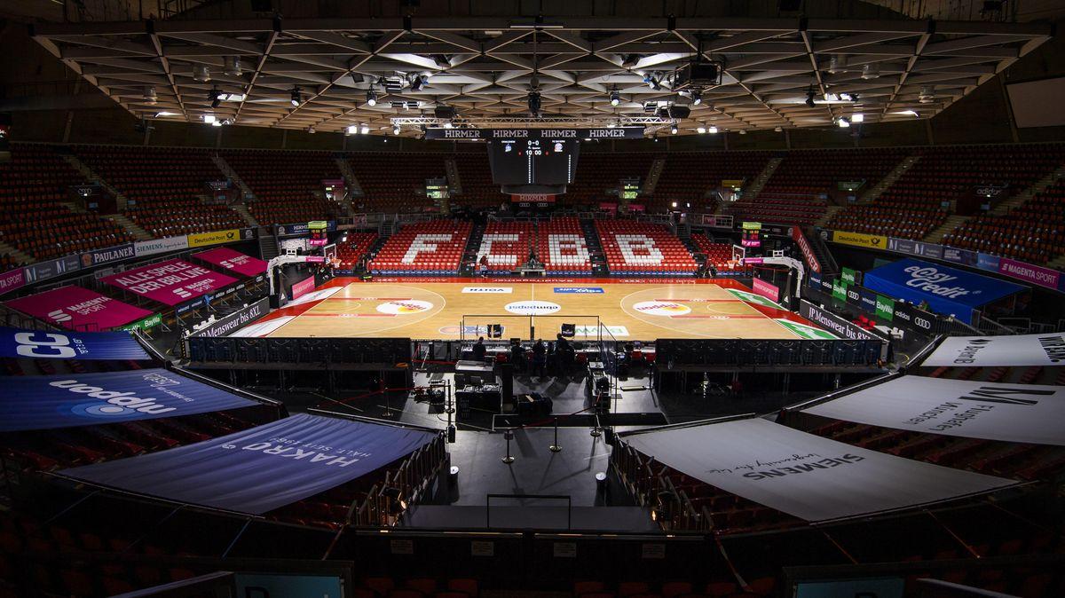 Der Münchner Audi Dome, Austragungsort des Basketball-Finalturniers