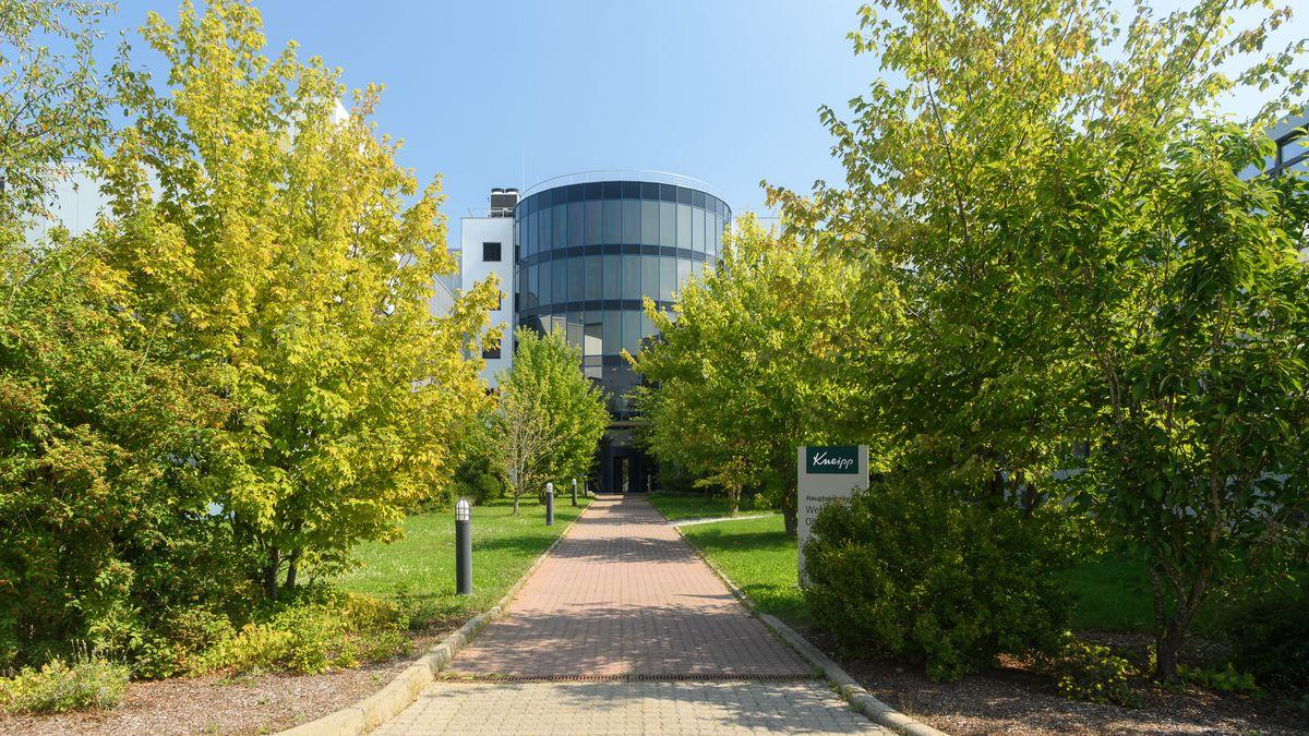 Der Hauptsitz der Kneipp GmbH am Standort Ochsenfurt