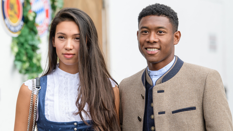 David Alaba mit Freundin Shalimar