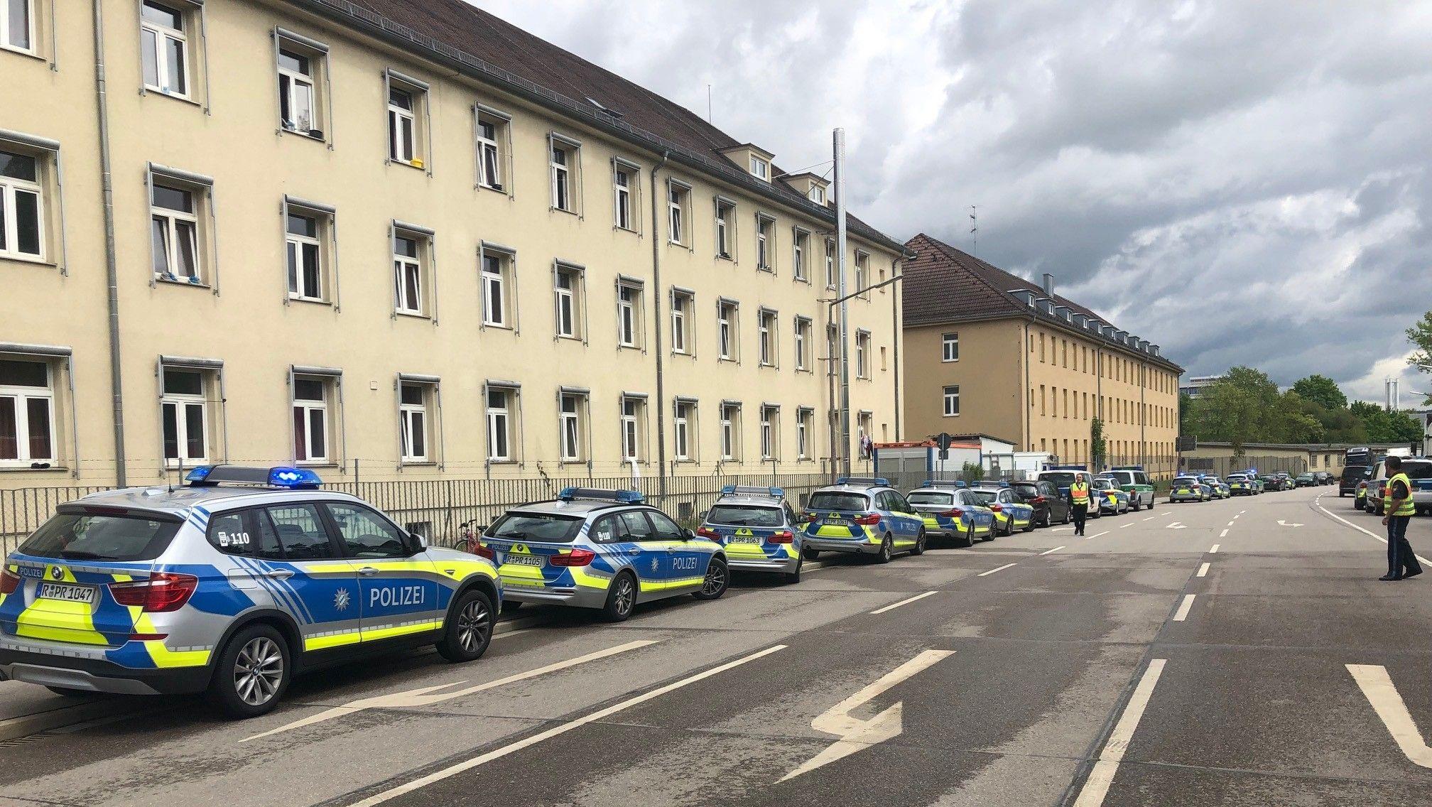 Aufstand im Ankerzentrum Regensburg