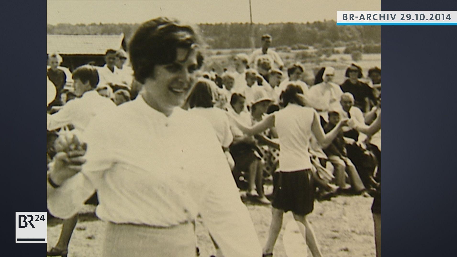 Barbara Stamm als junge Frau