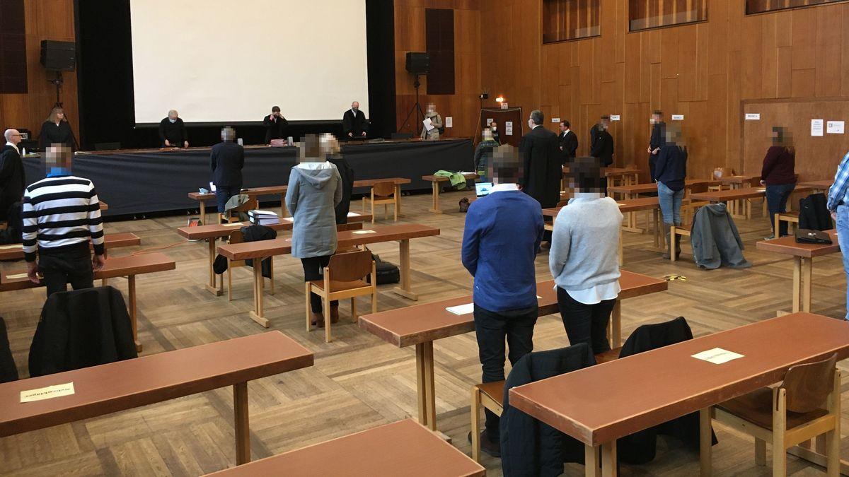 Prozess gegen ehemaligen Fußball-Jugendtrainer in Schweinfurt