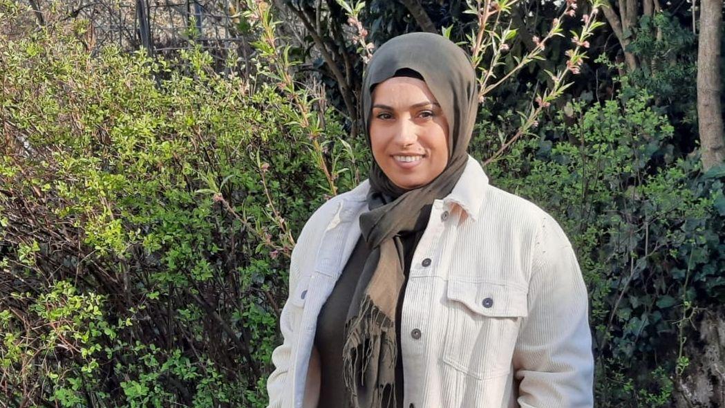 Muslimin Ayla Inan aus Kempten im Allgäu