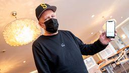 Rapper Smudo macht Werbung für die Luca-App   Bild:picture alliance/dpa   Axel Heimken
