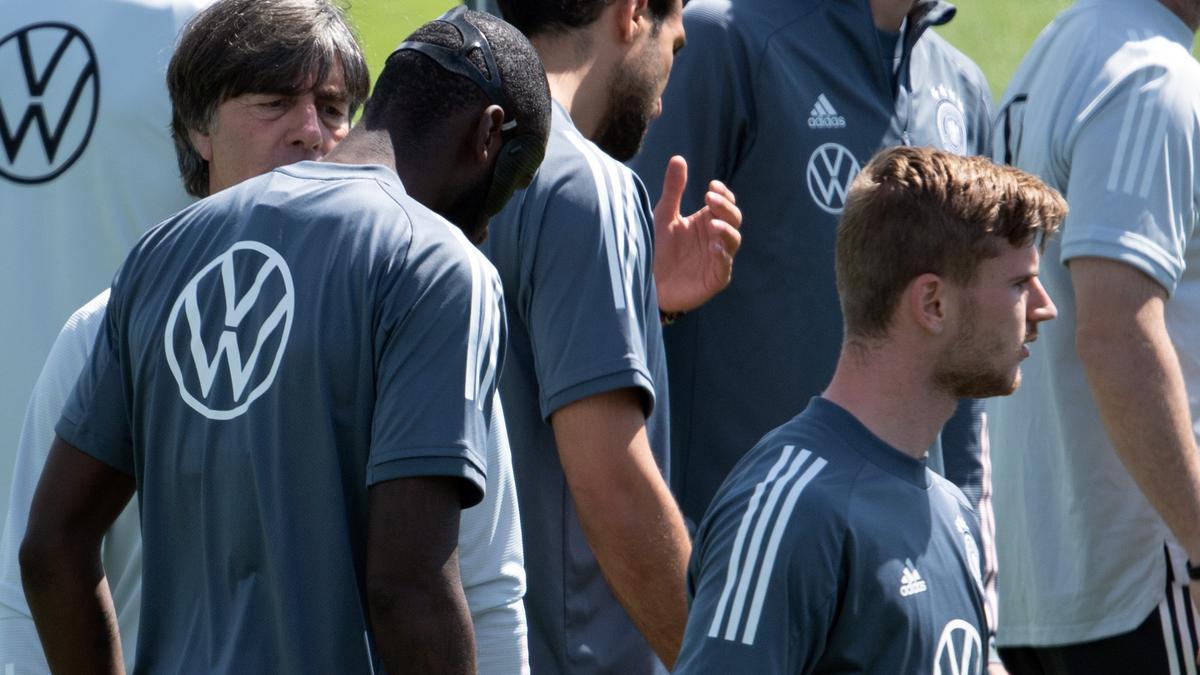 DFB-Team im Training