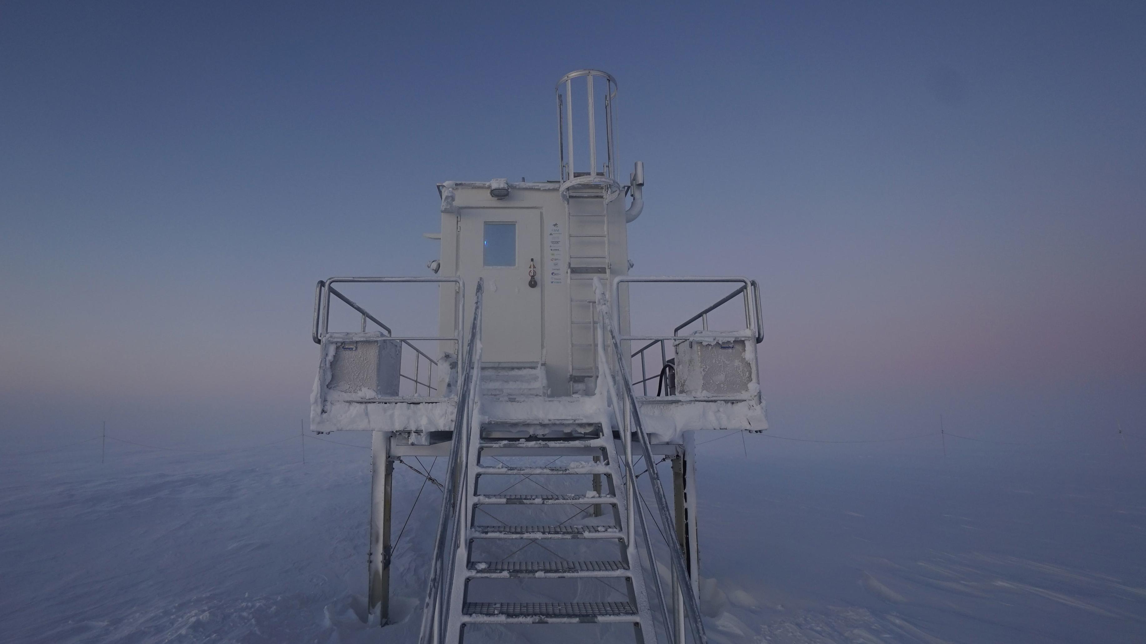 Das EDEN-ISS-Gewächshaus in der Antarktis