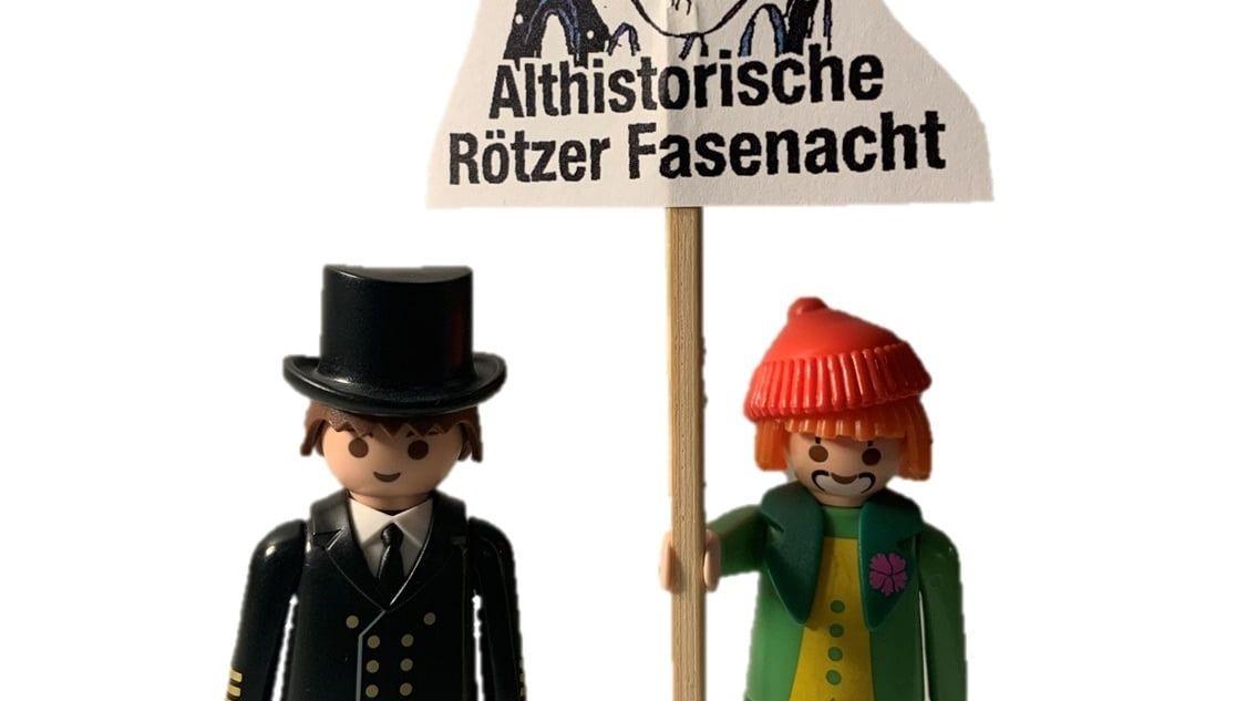 """Die """"Althistorische Rötzer Fasenacht"""" präsentiert heute ihren Miniatur-Faschingsumzug"""