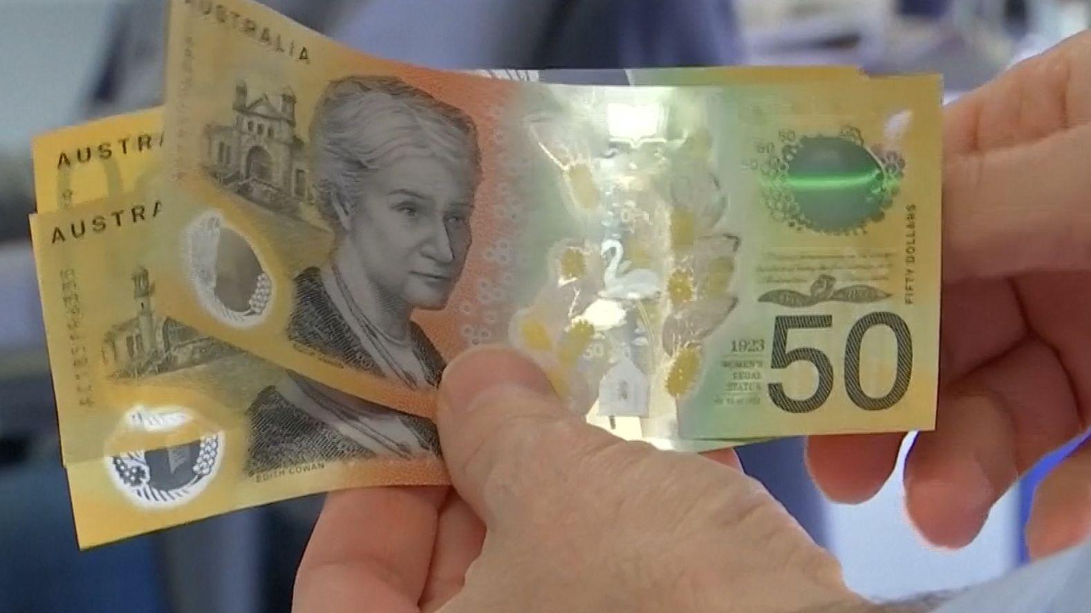 Australischer 50-Dollar-Schein