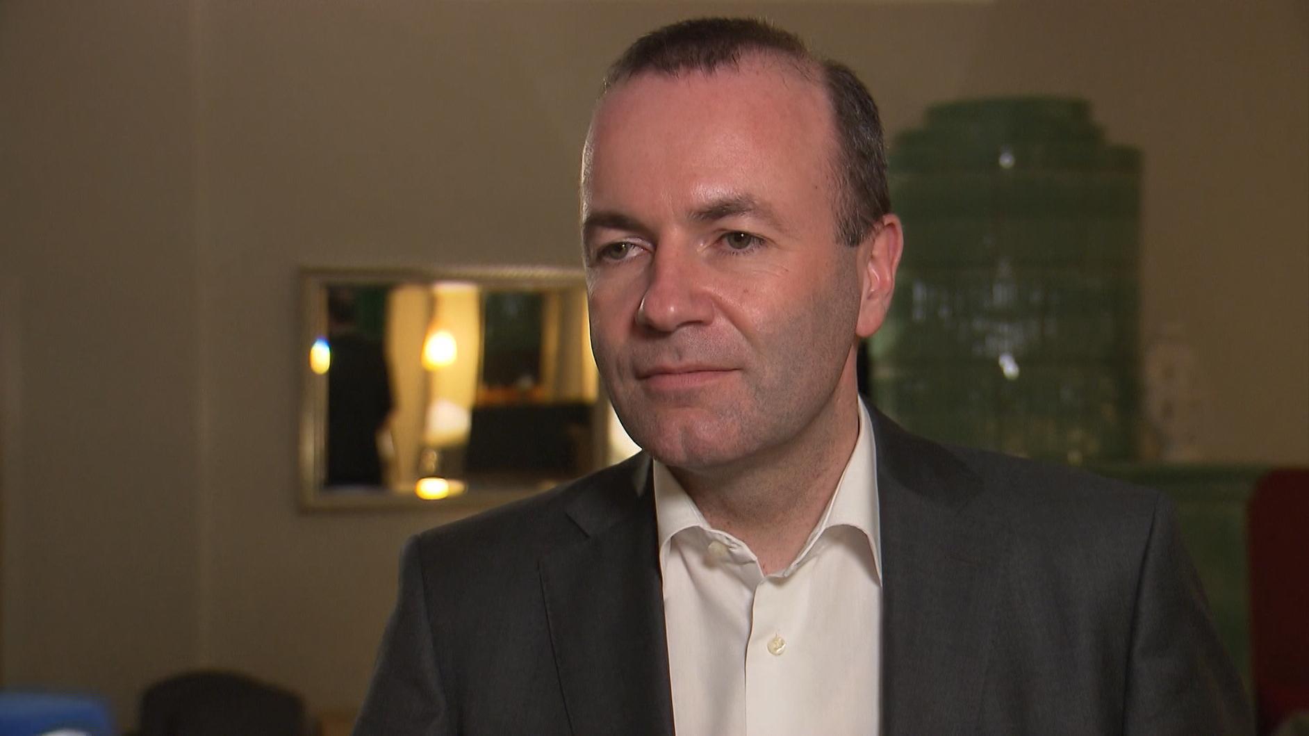 EVP-Fraktionschef Weber im Interview