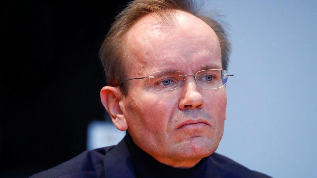 Markus Braun, ehemaliger Wirecard-Chef vor dem Untersuchungsausschuss