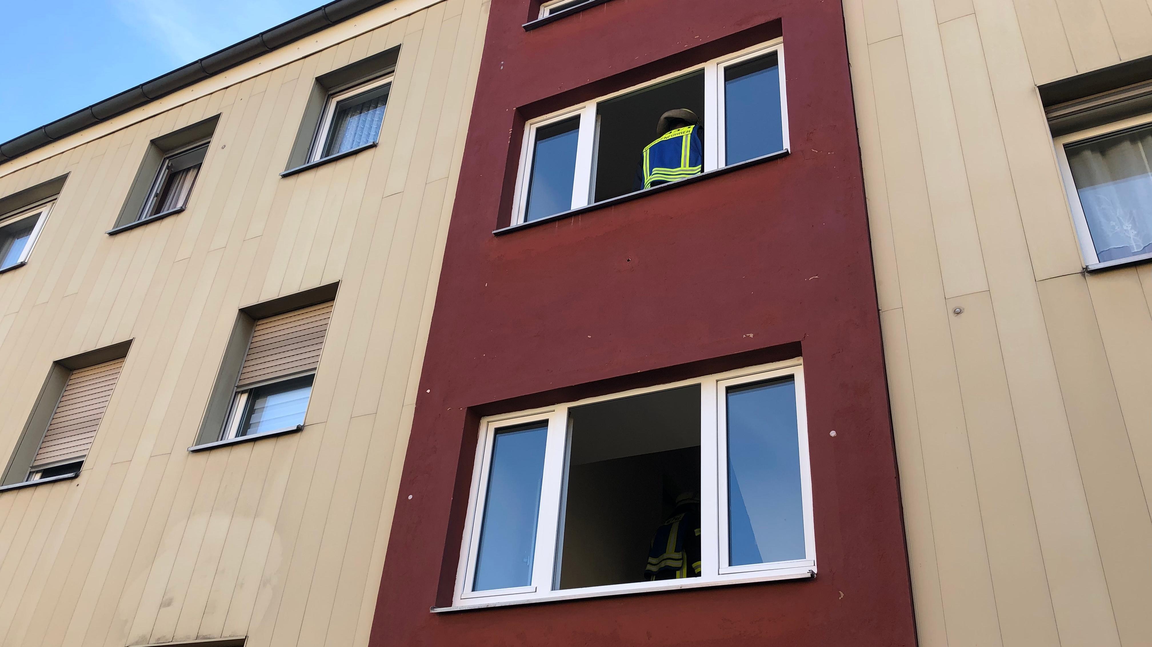Ausgebrannte Wohnung in Lauf an der Pegnitz