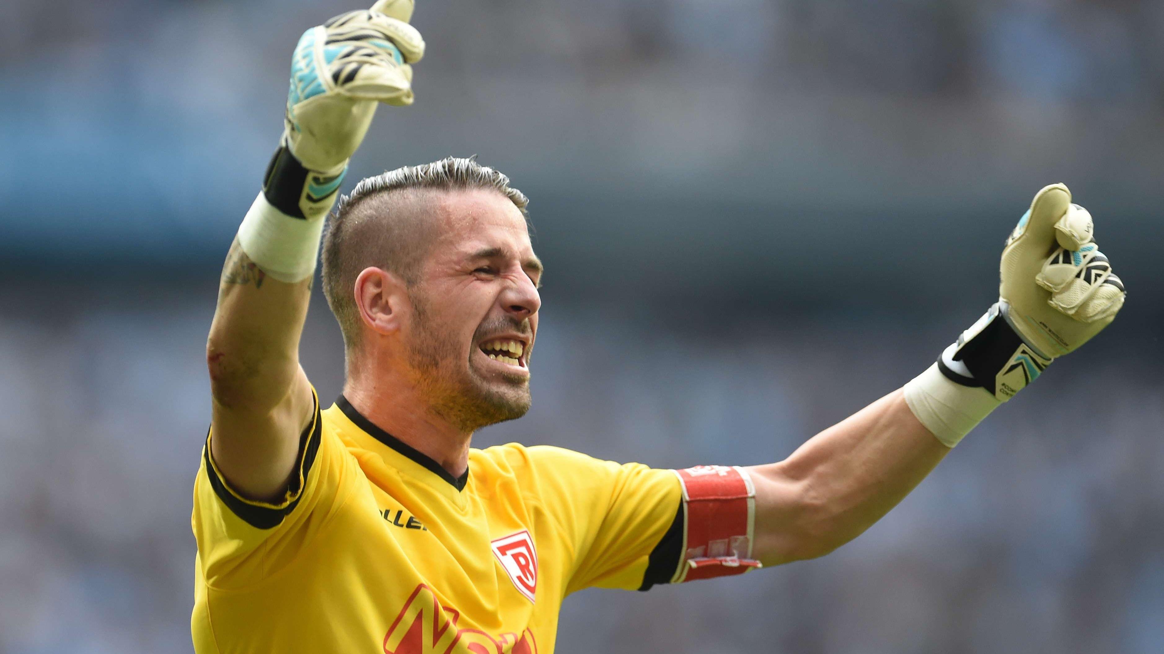 Torwart Phillip Pentke wechselt in die 1. Bundesliga.