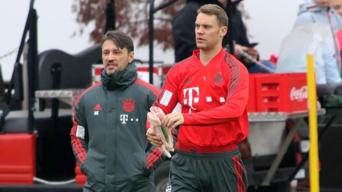Niko Kovac und Manuel Neuer