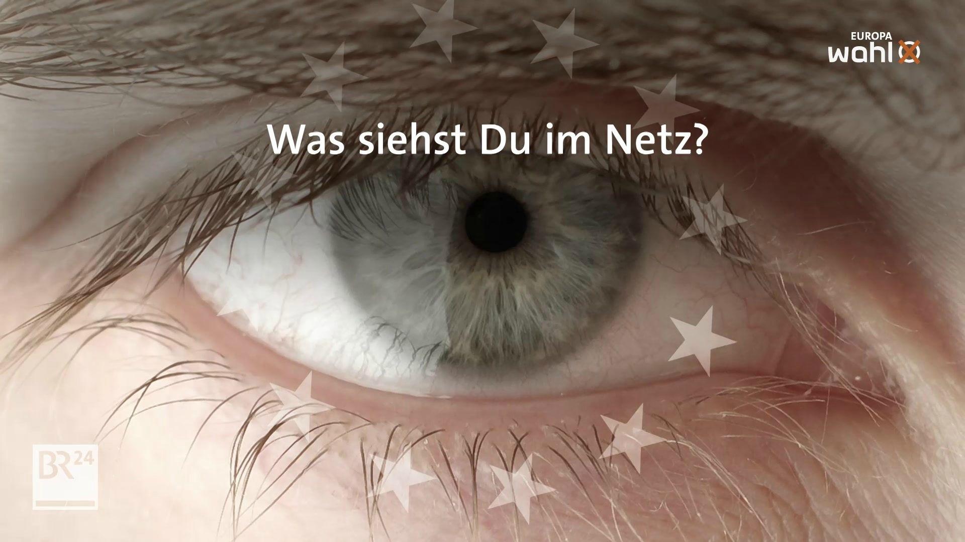 Auge mit Sternenkranz