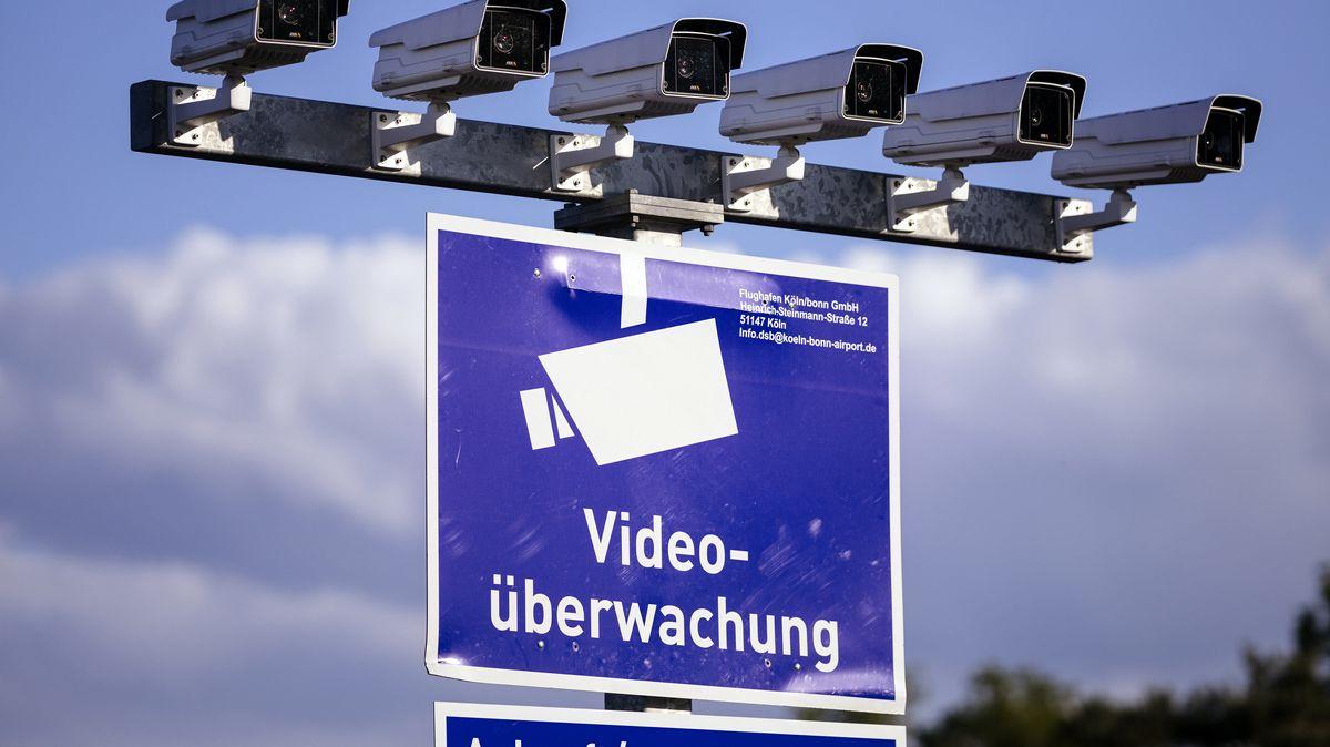 Videoüberwachung am Flughafen Köln Bonn