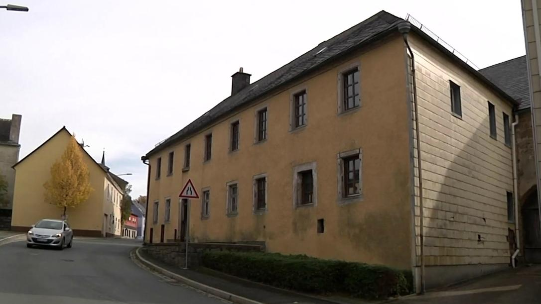 Marodes Haus in Sparneck