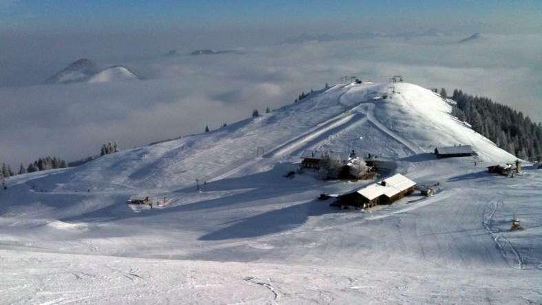 Skigebiet am Sudelfeld